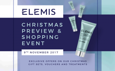 Elemis Christmas Preview and Shopping Event
